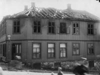 Nannestadgata etter brannen i 1889