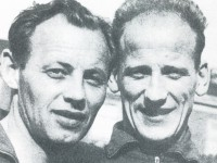 """Bjarne """"Bamse"""" Hansen (t.h.) sammen med Thorleif """"Toffa"""" Olsen"""