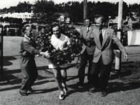 Edgar Bruun tar sin 50. NM-tittel (1955)