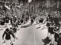 Kampen skole 17. mai 1947