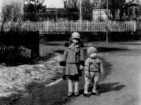 Eva Iversen og Eilert Stensby ca 1920