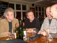 Hyggelig samvær på Bistroen etter Brinken-møtet (2008)