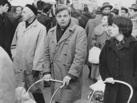 Aslaug og Ivar Nygaard i en demonstasjon mot atomvåpen på 1960-tallet