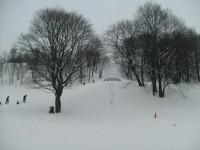Vinterstemning ved bakken i Ola Narr (2009)