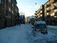 Snørydding på Kampen (2009)