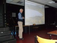 Petter B. Molaug holder foredrag om hverdagsliv i middelalderen (2009)