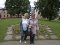Ella Solli og Gerd Eriksen i Kampen park (2009)