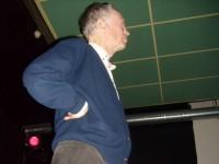 Forfatter Karsten Alnæs på Bistroen (2010)