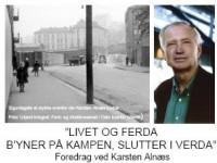 Plakat for Karsten Alnæs' foredrag