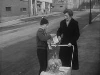 Salg av merkater i Normannsgata (1960)