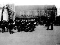 Kampen skoles guttemusikk (ca 1920)