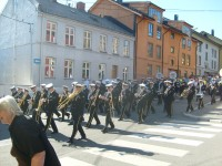 Kampen Janitsjarorkester på Kampendagene 2010