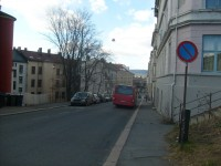 Kampenbussen i Hagegata (2010)