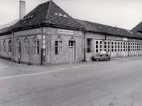 Olav Jahres bilverksted ved Trikkestallene (1968)