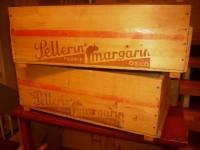 Kasser fra Pellerin Margarin Fabrik