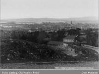 Utsikt fra Kampen park (1875)