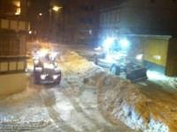 Snørydding i Nittedalsgata (2011)