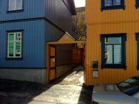 Synnøve Findens opprinnelige fabrikk lå i Danmarks gate 41