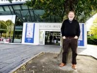 Espen Haavardsholm foran Munch-museet
