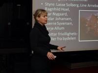 Ragnhild Hoel, styreleder i Kampen Historielag (2011)