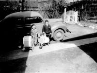 Greta Røss og Berit Andersen (1950)