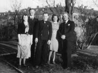Familien Halvorsen i Kampen park (1940)