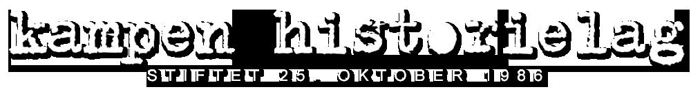 Logo: Kampen Historielag