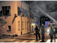 Brann på Bistroen 2012.