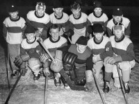 Kampen skole 1955 Ishockey