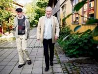 Trygve Panhoff og Lasse Solberg i Hurdalsgata (2013)