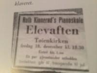 Kinnerøds pianoskole