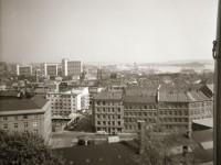 utsikt fra Norderhovgt 28