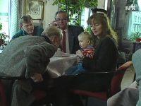 """Fra reportasje om Kampen i NRKs """"Liv og Lyst"""" (1988)"""